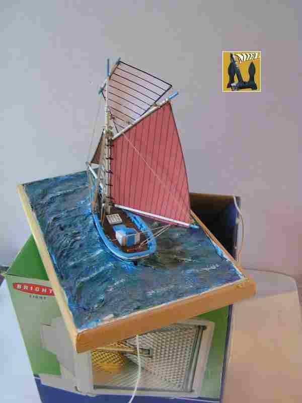 Bateau de pêche en Bateau Moule 3410