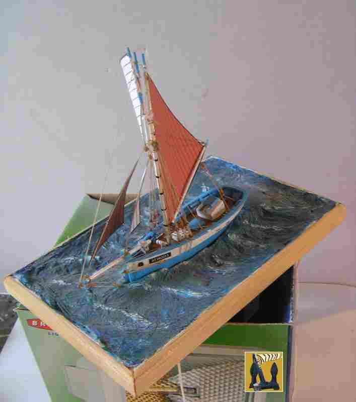 Bateau de pêche en Bateau Moule 3510