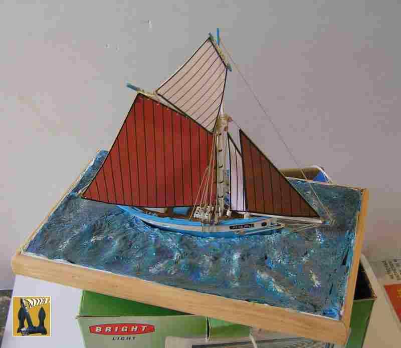 Bateau de pêche en Bateau Moule 3610