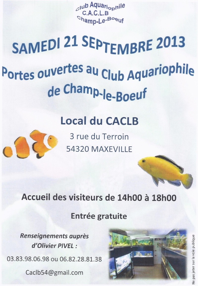Portes ouvertes Champ le Boeuf (54) samedi 21 septembre 2013 Portes10