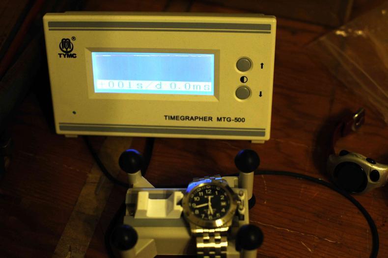 Curieuse constatation sur un chronocomparateur Timer10