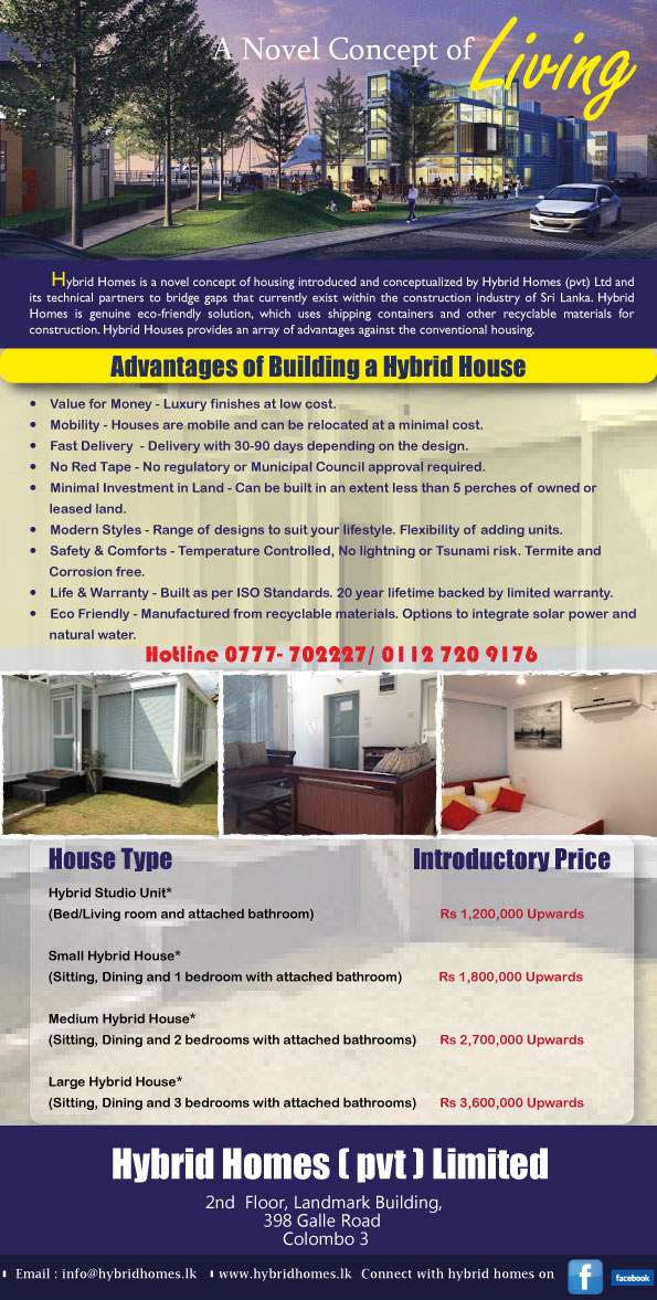 New Concept of Housing - Hybrid Homes Hybrid10