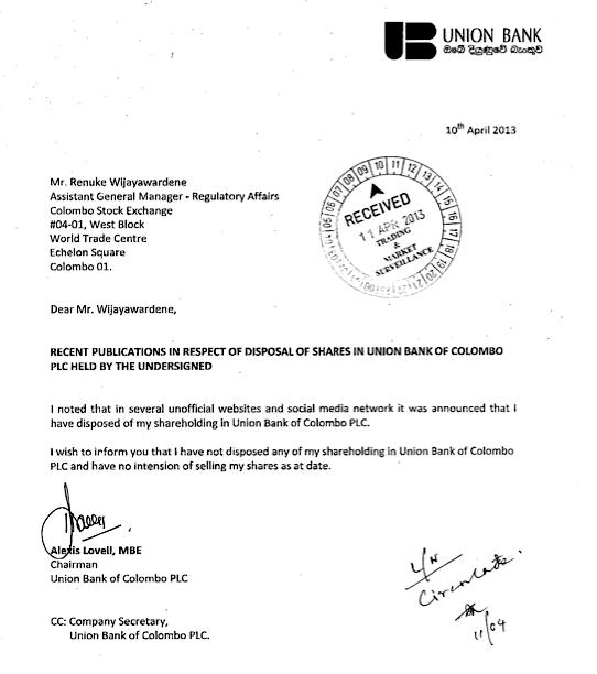 UBC - Corporate Disclosure or Public Announcement  Screen12