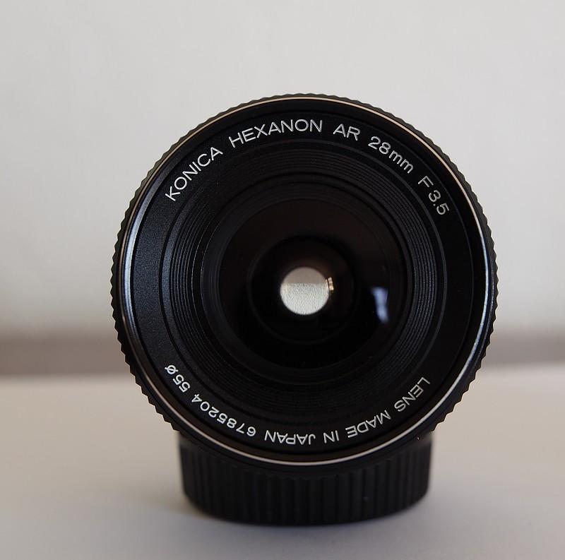 ( VENDU ) Objectif KONICA HEXANON AR 28mm f/3.5 P3000311