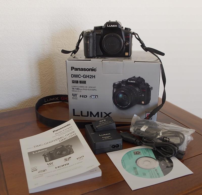 ( VENDU) LUMIX DMC-GH2  ( boitier nu ) P3100410