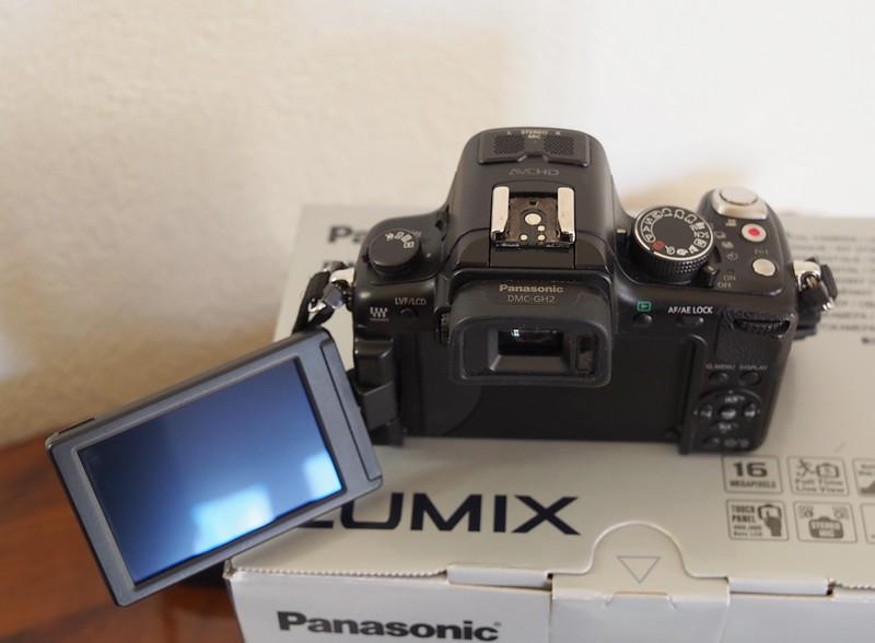( VENDU) LUMIX DMC-GH2  ( boitier nu ) P3100413