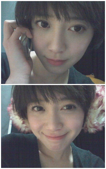 Goo Hye Sun acting overly cute with her clear complexion! 112