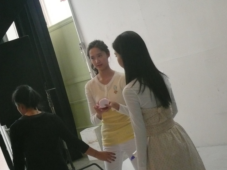 Kim So Eun and YoonA @ Clean n Clear CF Recording Pictures Yoong10
