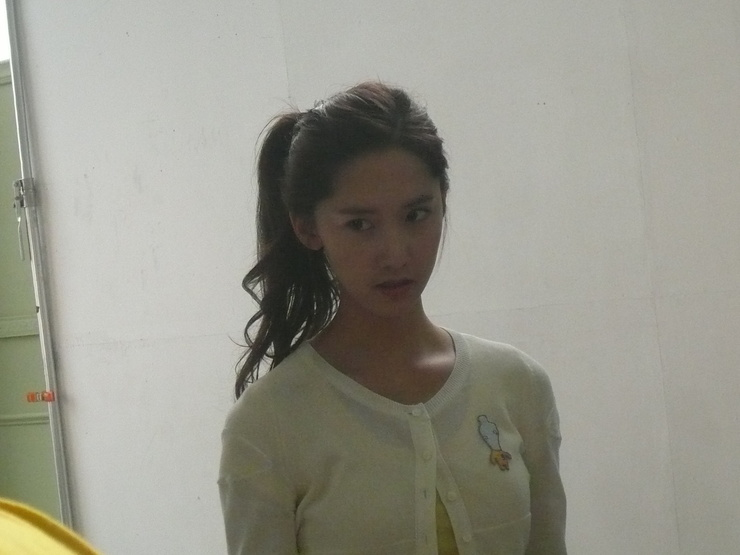 Kim So Eun and YoonA @ Clean n Clear CF Recording Pictures Yoong110