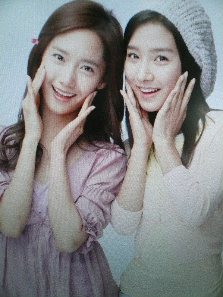 Kim So Eun and YoonA @ Clean n Clear CF Recording Pictures Yoong210