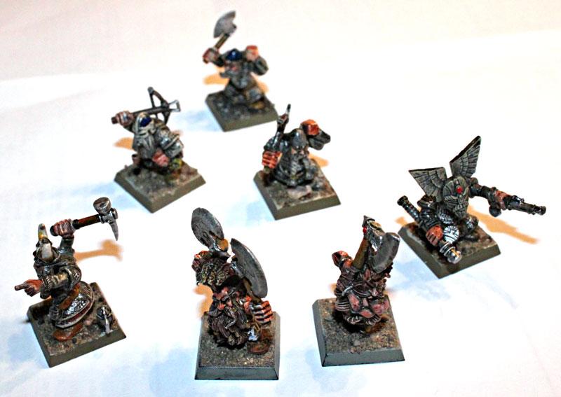 Quixote's dwarven warband, The Deep End K-laum10