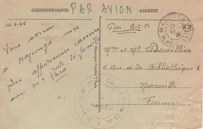 CP en FM de Majunga, 13 FEV 1946, par BCM... Cp_maj10