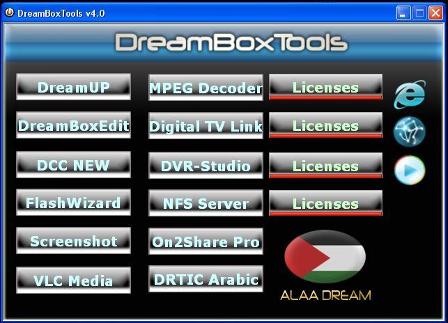 Dreambox  - Tools v4.0 Dreamb11