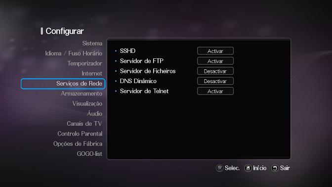 Azbox HD - Vídeo tutorial como utilizar o MAZ para gerenciar seu Azbox HD Redea10