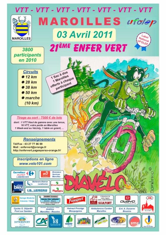 Enfer Vert Maroilles 03/04/10 Affich10