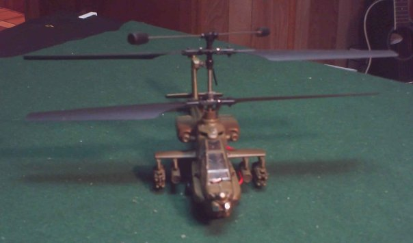 Scale Apache RC Helicopter Apache10