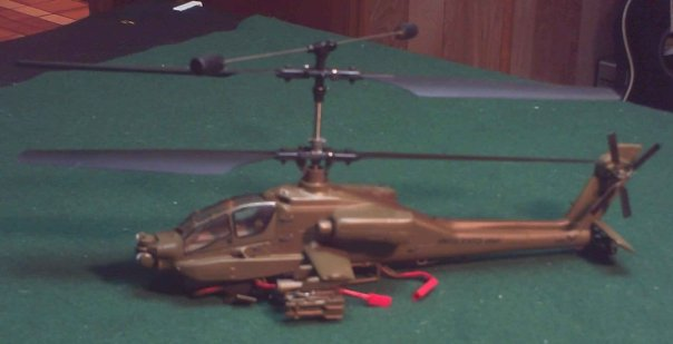 Scale Apache RC Helicopter Apache11