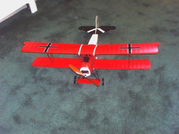 SIG Fokker D7 RC ARF Dr7a10