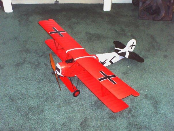 SIG Fokker D7 RC ARF Dr7b10