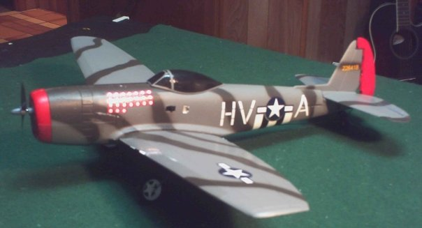 COX P47 RC ARF P47a10