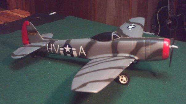COX P47 RC ARF P47b10