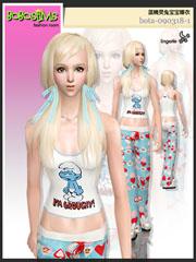 Красивые пижамы и бельё. Bota-053