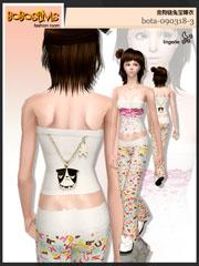 Красивые пижамы и бельё. Bota-055