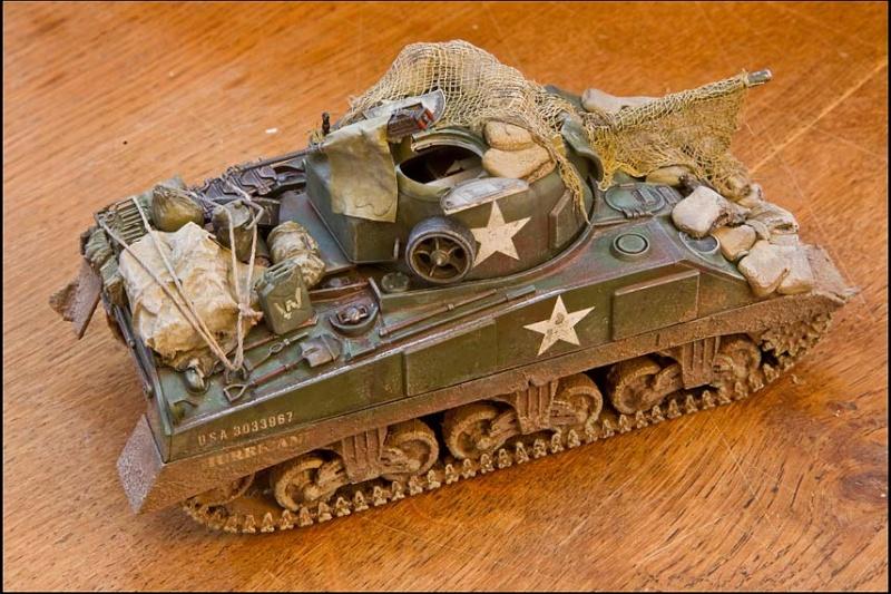 Sherman tamiya 1/35. Edan9719