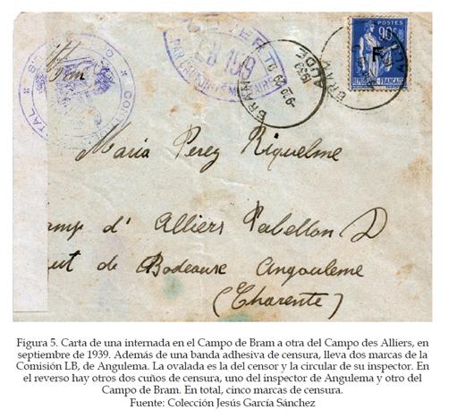 La historia postal de los campos de refugiados españoles en Francia, 1939-1945 Figura12
