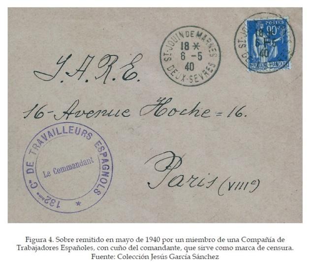 La historia postal de los campos de refugiados españoles en Francia, 1939-1945 Figura14