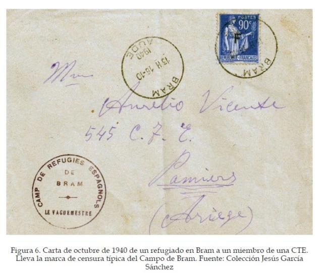 La historia postal de los campos de refugiados españoles en Francia, 1939-1945 Figura15