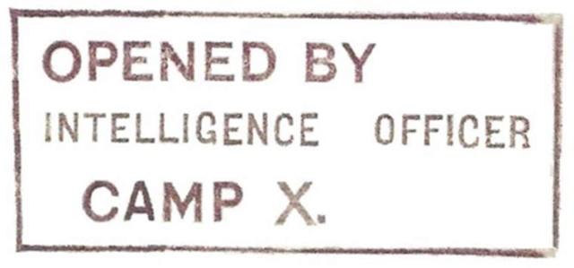 Lettre adressée au Chef de la censure de Liverpool en 1944. Perevi10