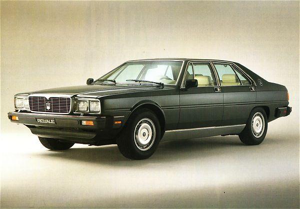 maserati e lancia limousine a confronto Qp3-1310