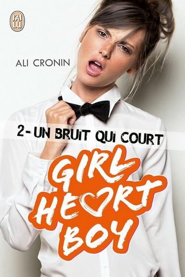 Girl Heart Boy - Tome 2 : Un bruit qui court de Ali Cronin 71qfqa10