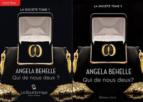 La Société - Tome 1 : Qui de nous deux ? de Angela Behelle Qui10
