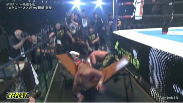 [Article] Kenny Omega vs Hiroshi Tanahashi WK13 Analyse du match Trahis10