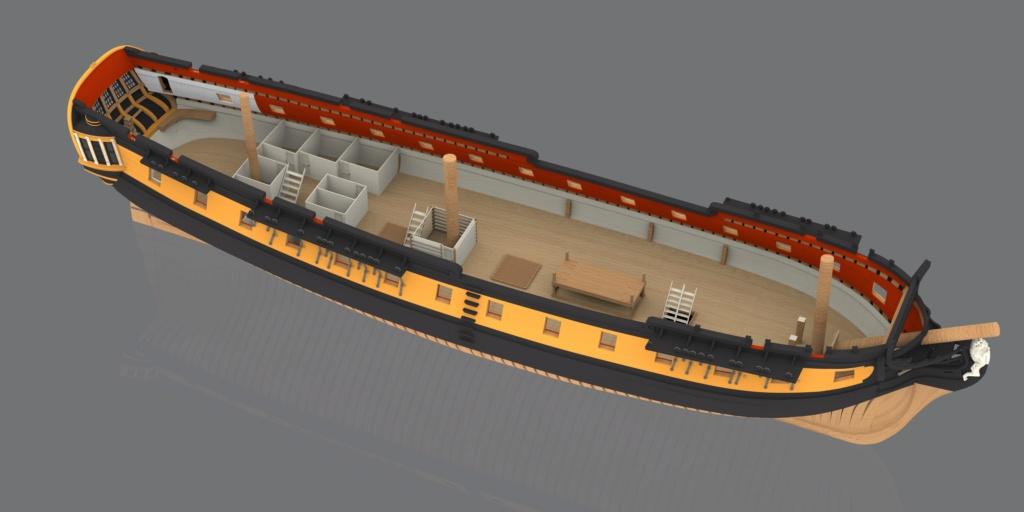 Mahonesa frégate- 34 canons1789 à 1:32 par A. Sorolla plans de Fermin Urtizberea - Page 4 Fragat11