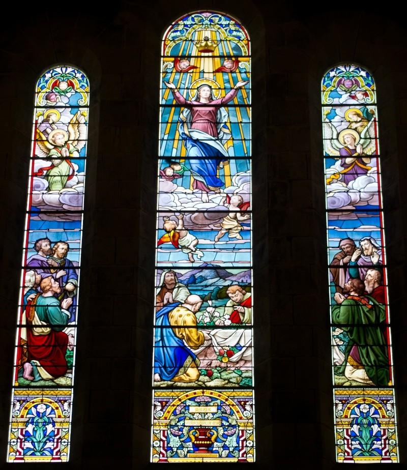 vitrail église saint ferdinand Vitrai10