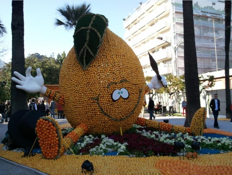 La fête des citrons à Mentons 05-03-13