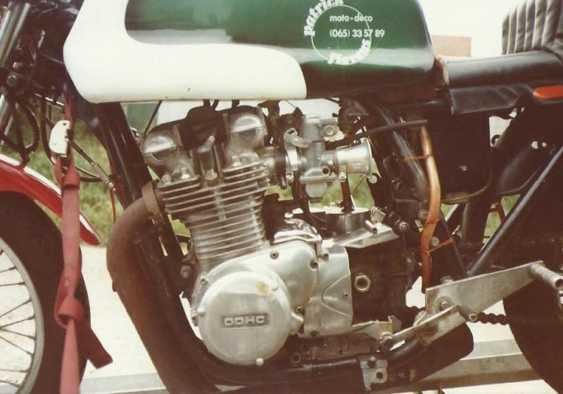 quelques photos retrouvées  des  motos du paternel  312