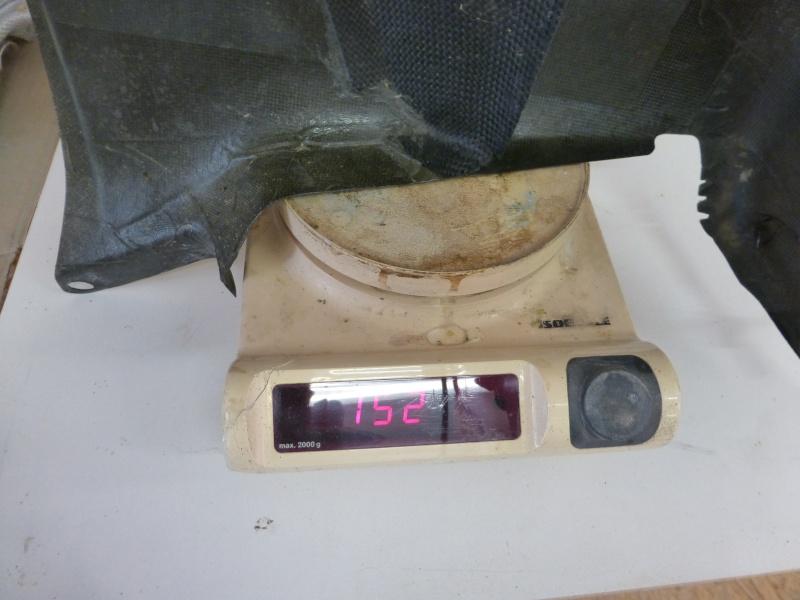 Répararation du carénage d'un moteur d'Ulm P1000613