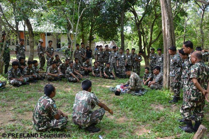 Thailand Forest Ranger Pattern 99898710