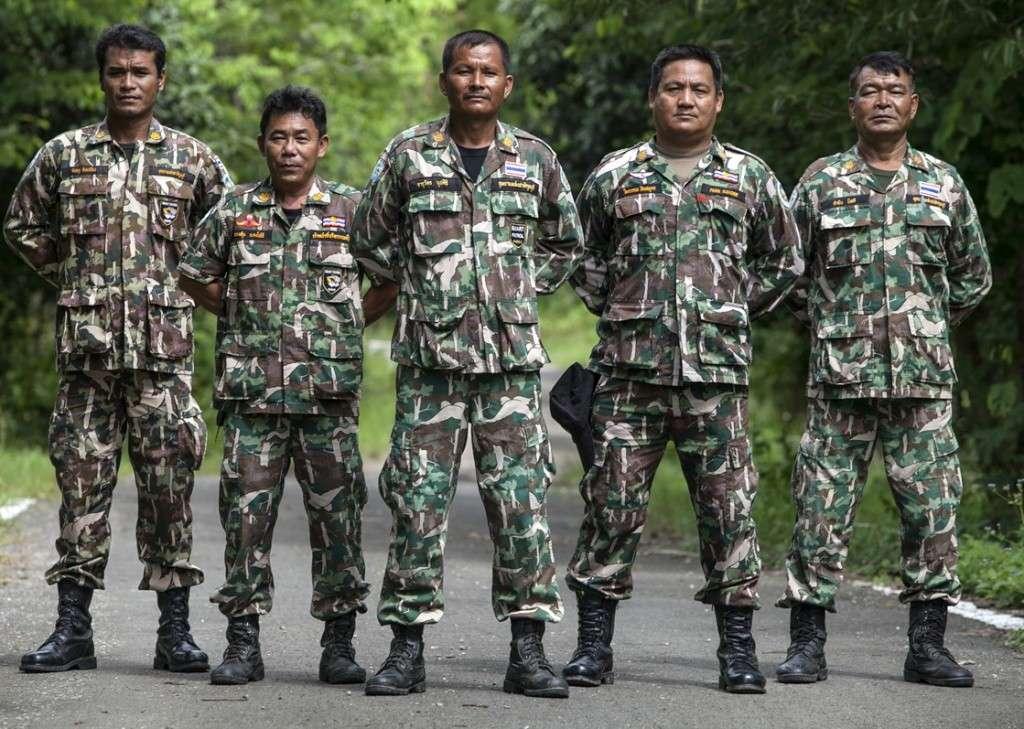 Thailand Forest Ranger Pattern Kuibur10