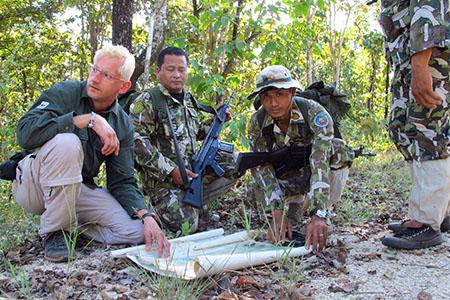 Thailand Forest Ranger Pattern Scr_3010