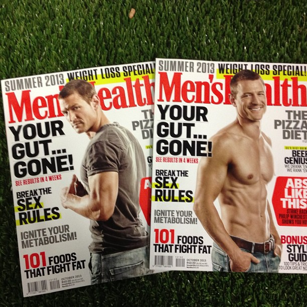 Philip is in the newest Men's Health South Africa 678c1c10