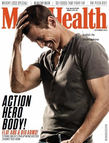 Philip is in the newest Men's Health South Africa Mens_h11