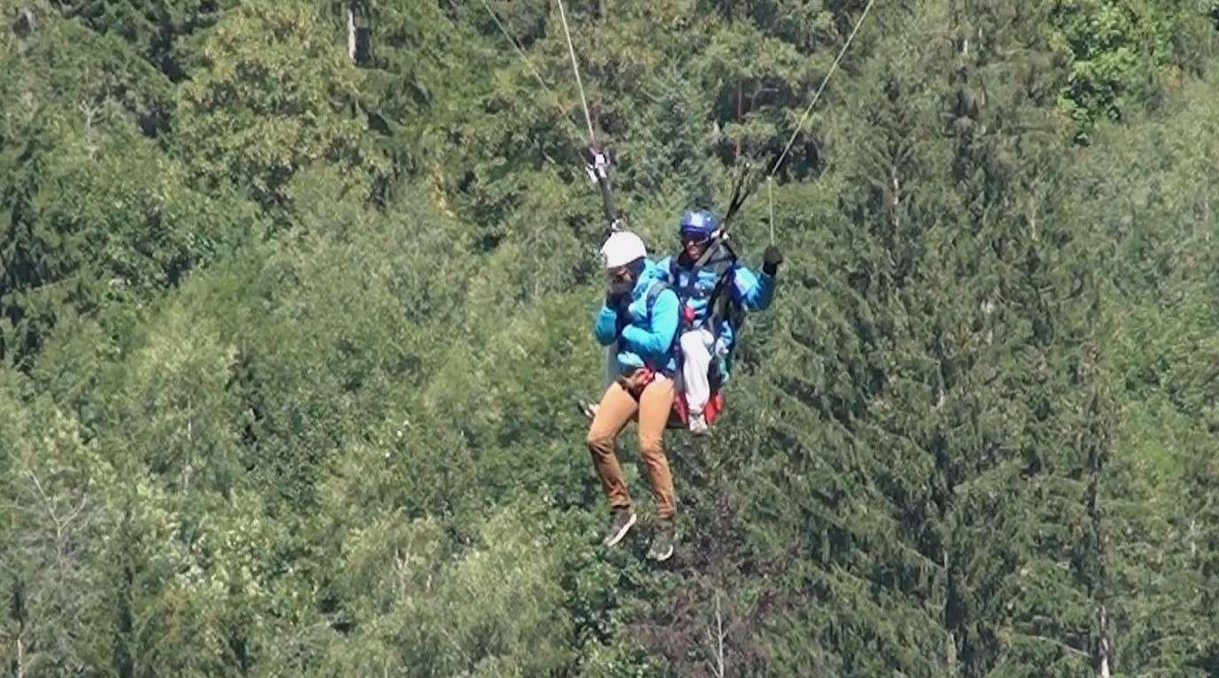 Le Vol libre dans le massif du Mont Blanc Image211