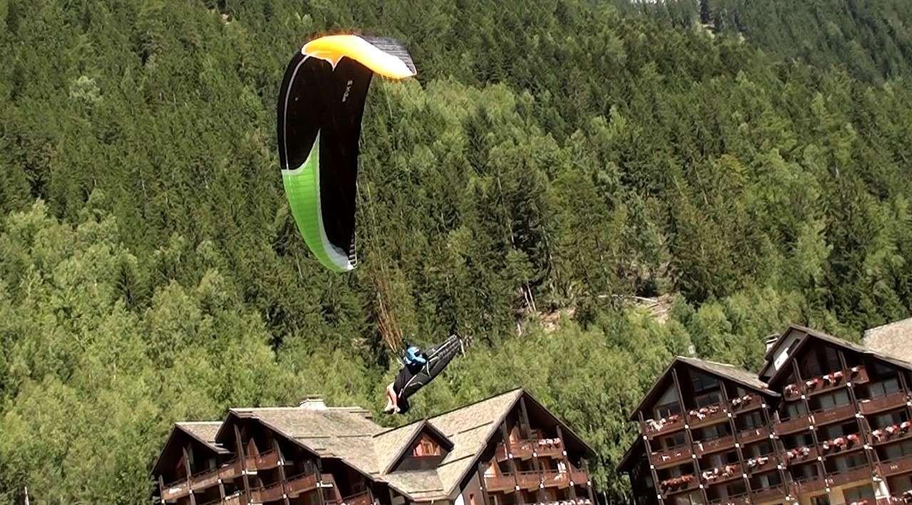 Le Vol libre dans le massif du Mont Blanc Image410