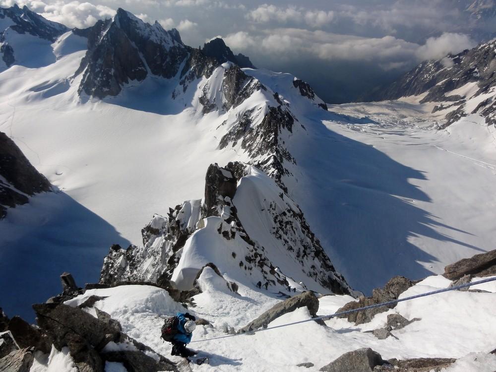 L'Arête Kuffner Mont Maudit Ku1010