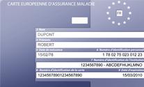 la carte européenne d'assurance maladie Ceam10